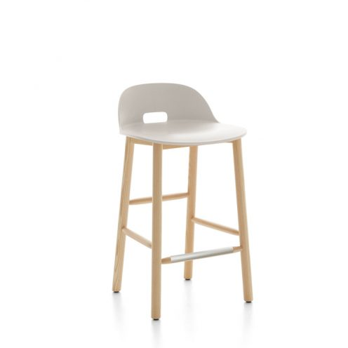 Alfi Counter Stool Low Back By Emeco At Calgary S Kit